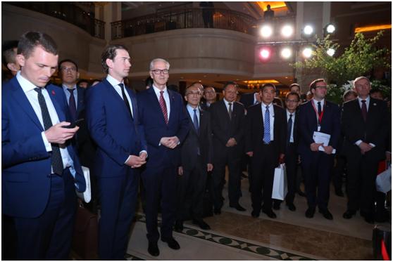 2019年第二届一带一路高峰论坛之跨境信用支付签约仪式