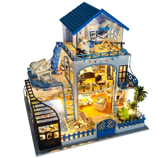 """浪漫温馨的梦星空DIY小屋玩具 为你开启一个梦幻般的""""天堂"""""""