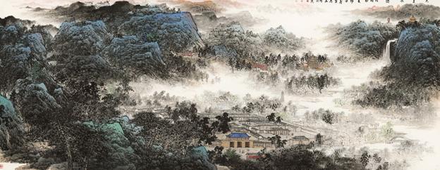 杨留义城市山水画作品展 亮相北京国家会议中心 泛商业