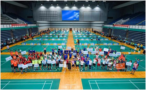 第八届华南商学院EMBA王老吉杯羽毛球精英赛圆满完成!