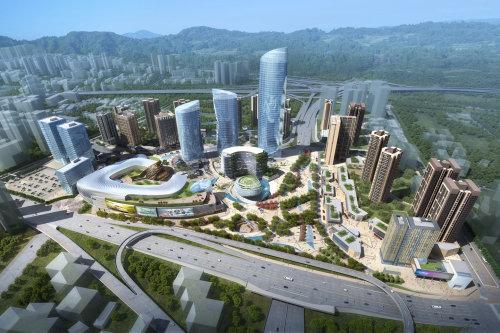 天誉置业 天誉智慧城解读重庆弹子石超大型城市综合体