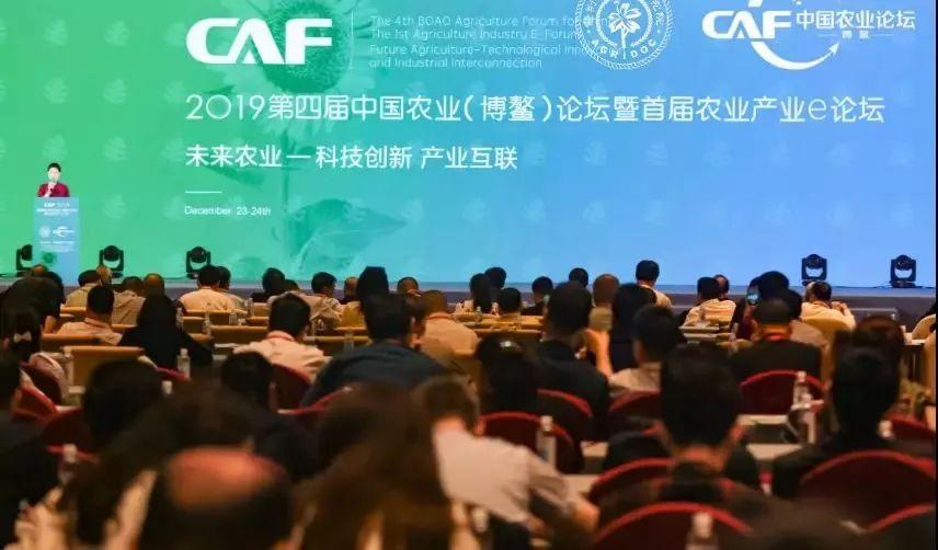 2019中国农业博鳌论坛隆重开幕 网库重磅发布产业合伙人计划
