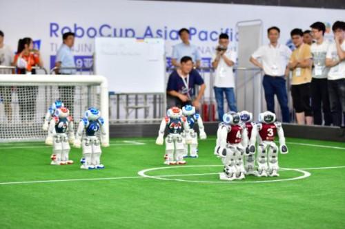 2020亚太机器人世界杯天津国际邀请赛杨帆起航