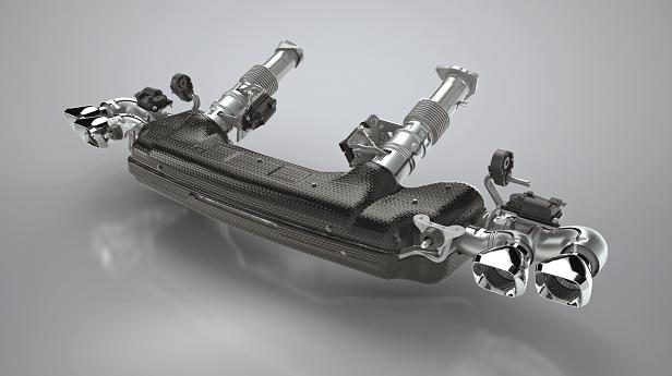 天纳克为2020雪佛兰克尔维特跑车提供排气系统