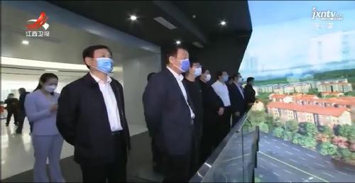 江西省委书记刘奇调研景德镇猎户星空5G城市会客厅