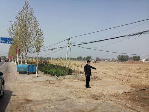 河北景县留府上百亩耕地被荒废