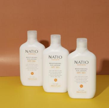 烈日当头,有了Natio,防晒、补水、美白、抗氧化不在话下
