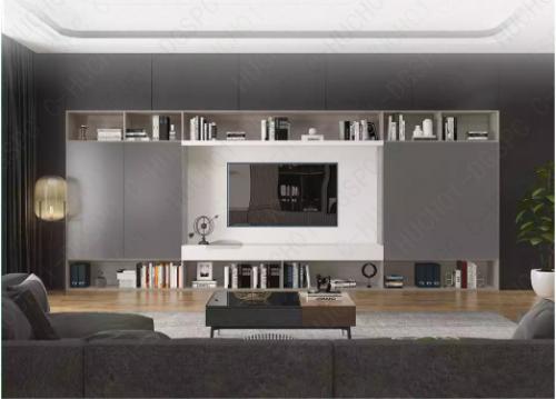 三适而依,高颜值+高收纳+环保的电视柜真香!