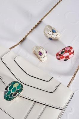 宝格丽包包定制你的专属魅力 蛇头包蛇首搭扣个性设计或成潮流新风标