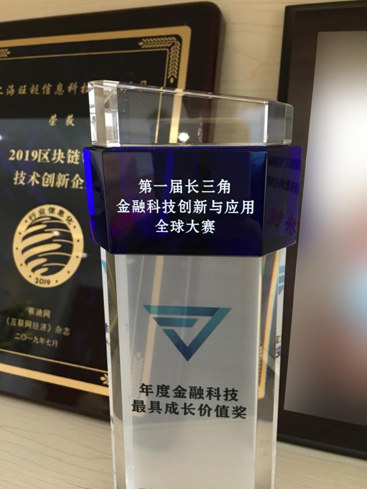 """两大奖项收入囊中!旺链科技荣获""""年度金融科技最具成长价值奖""""&""""最佳团队奖"""""""