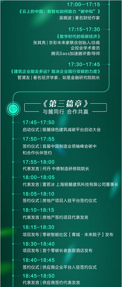 房地产大咖冯俊、顾云昌、王清勤领衔!银麓绿建减碳平台启动大会来了 泛商业
