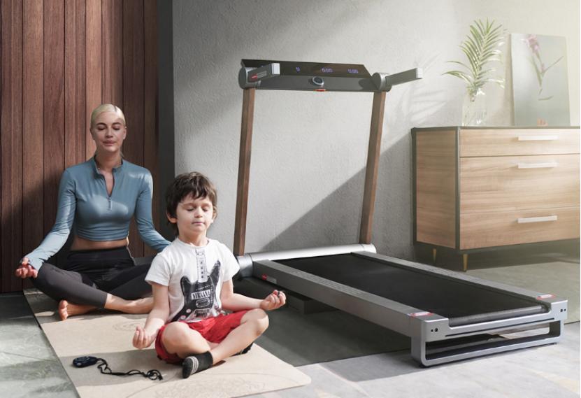 莫比家用电动跑步机一个特别好的健身家具