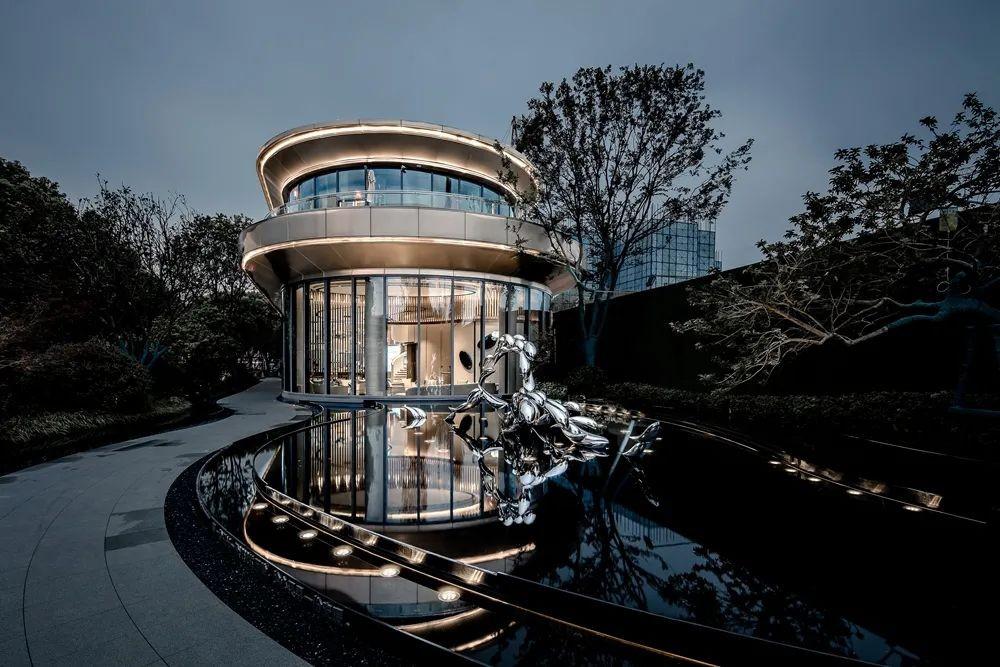杨志伟80后设计领军/售楼部设计/设计新作