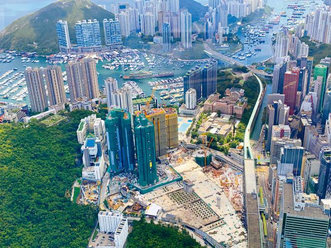 中国香港「港岛南岸」—扬海,进军一手楼盘的好时机