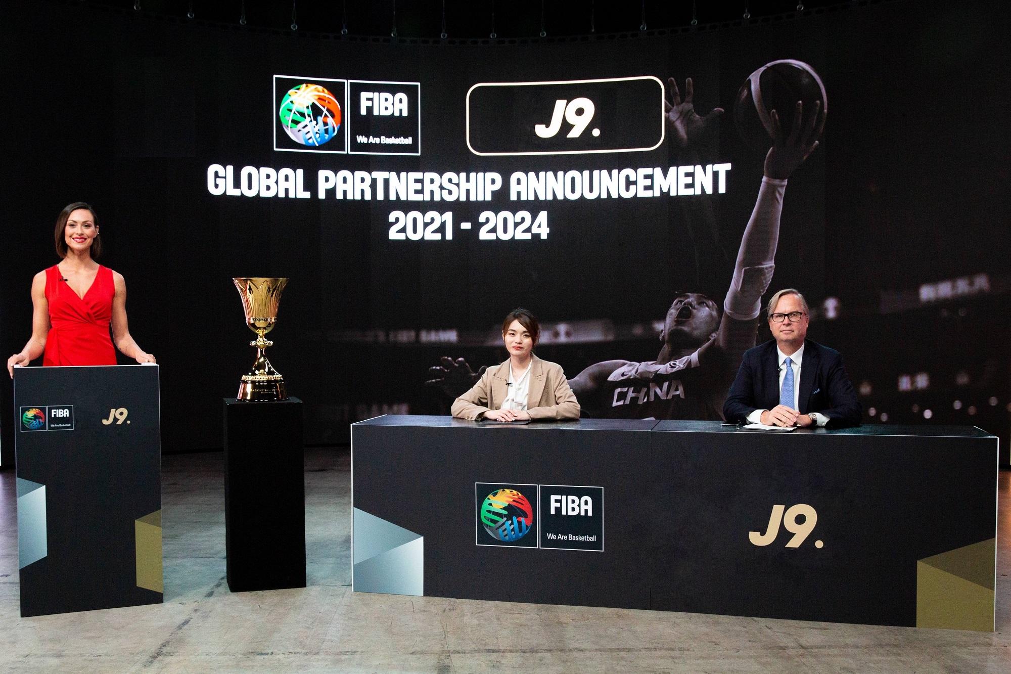 j9携手国际篮联,未来3年共同推进全球化战略